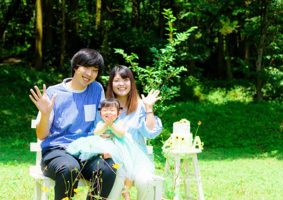 家族写真|フォトスタジオこころ|熊本 人吉 球磨 写真館